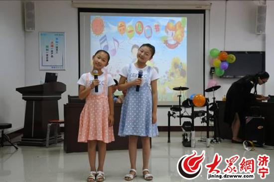 济宁移动金乡分公司开展庆 六一 儿童节才艺表演活动